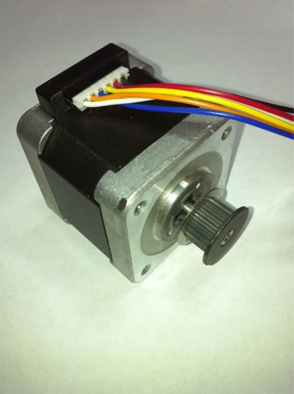 Sanyo Denki 103h5208 1 8 Deg Unipolar Stepper Motor New
